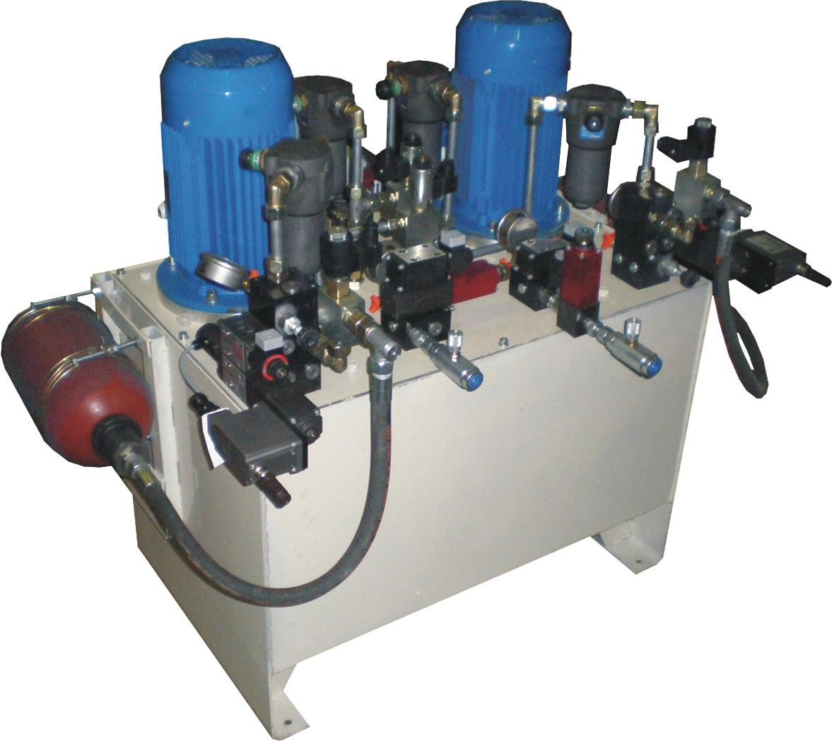 Гидропривод испытательного стенда для шинной промышленности